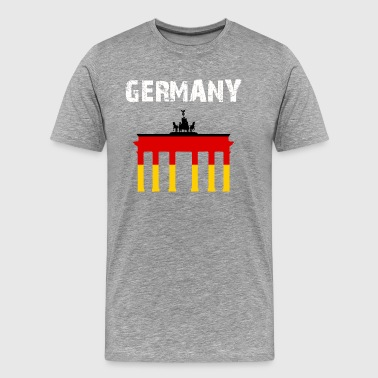 Nation-Design Germany Brandenburg Gate mYXGJ - Men's Premium T-Shirt