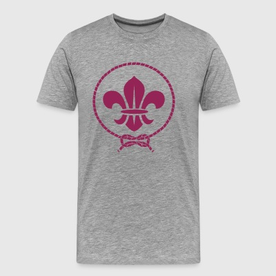 World scout movement - Men's Premium T-Shirt