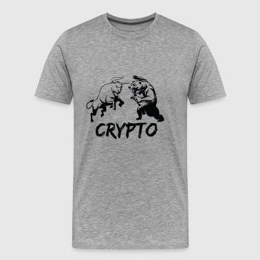 CryptoBattle Black - Men's Premium T-Shirt