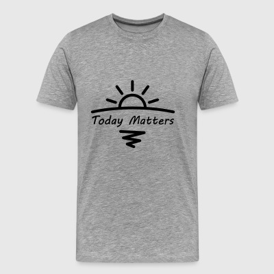 Today Matters Logo - Black - Men's Premium T-Shirt