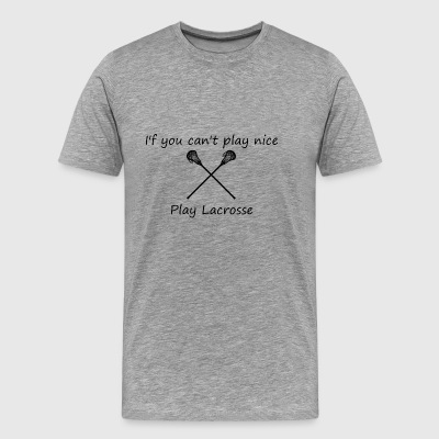 lacrosse2 - Men's Premium T-Shirt