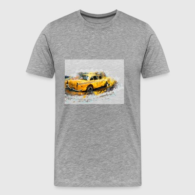 New York taxi - Men's Premium T-Shirt