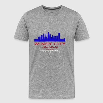 Windy City Street Society (Chi°TownCarClub) - Men's Premium T-Shirt