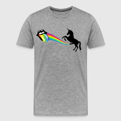 I Am a Unicorn, You Better Shut Up! - Men's Premium T-Shirt
