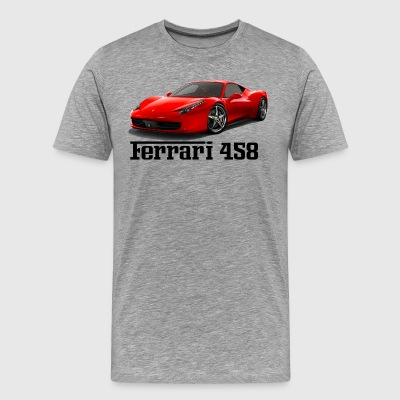 Ferrari 458 - Supercar - Men's Premium T-Shirt
