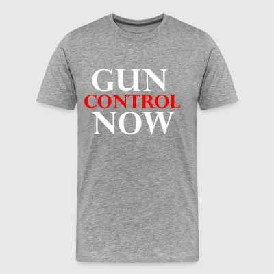 GUN CONTROL NOW - Men's Premium T-Shirt