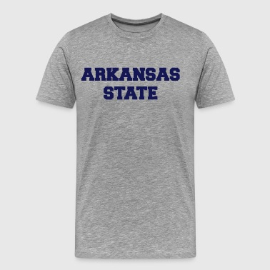 arkansas state - Men's Premium T-Shirt