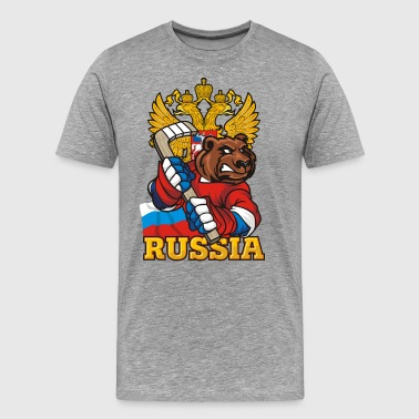 Russian Bear - Men's Premium T-Shirt
