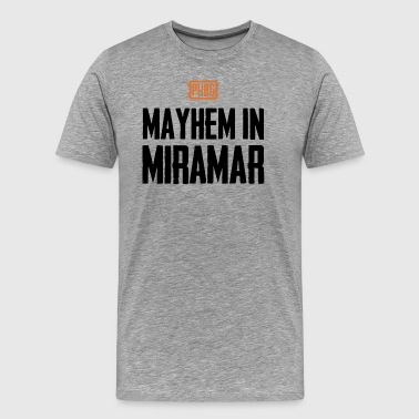 PUBG Mayhem in Miramar - Men's Premium T-Shirt