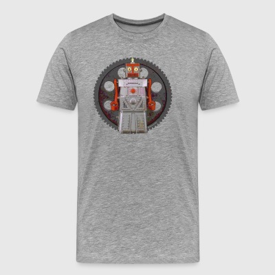 Robot Geared - Men's Premium T-Shirt