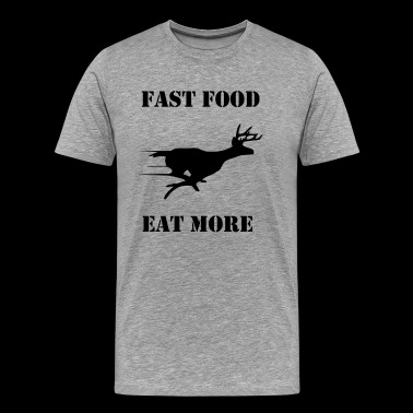 Fast Food Eat More - Men's Premium T-Shirt