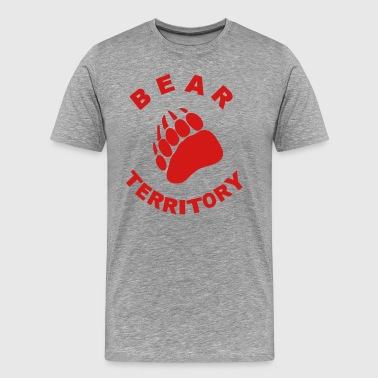 BEAR TERRITORY - Men's Premium T-Shirt