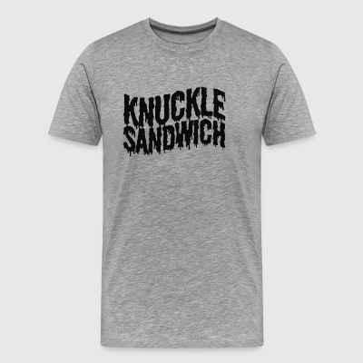 Knuckle Sandwich Ringer - Men's Premium T-Shirt