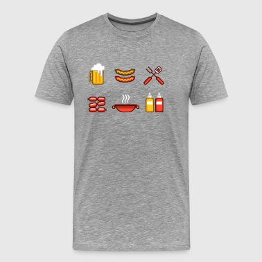 Beer Sausage Life - Men's Premium T-Shirt