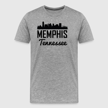 Memphis Tennessee Skyline - Men's Premium T-Shirt