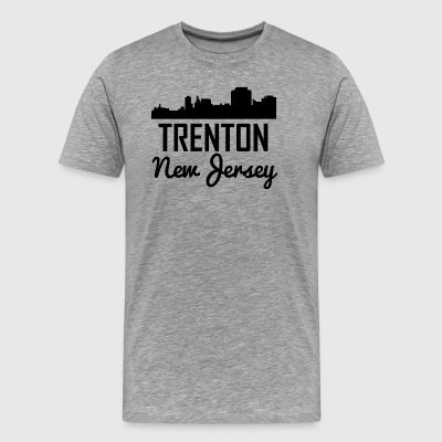 Trenton New Jersey Skyline - Men's Premium T-Shirt