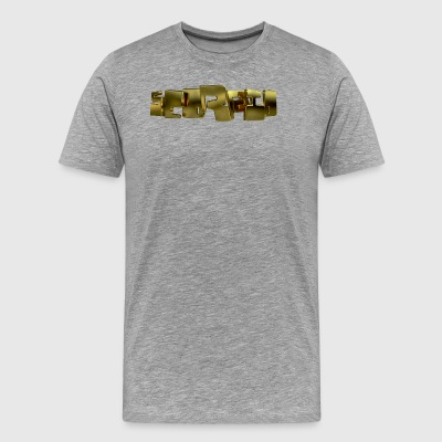 Gold Scorpio Type - Men's Premium T-Shirt