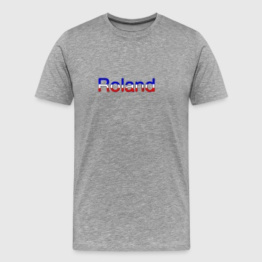 Roland Tricolor - Men's Premium T-Shirt