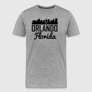 Orlando Florida Skyline - Men's Premium T-Shirt