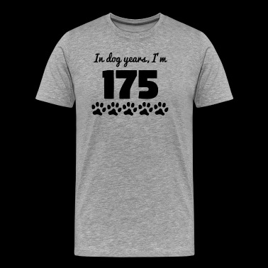 Dog Years 25th Birthday - Men's Premium T-Shirt