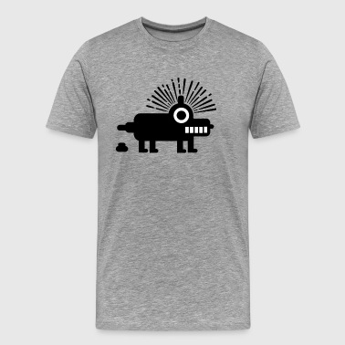 Robby the Robot Dog - Men's Premium T-Shirt