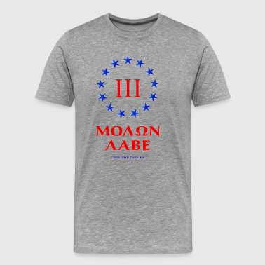 3 percenter Red White and Blue - Men's Premium T-Shirt