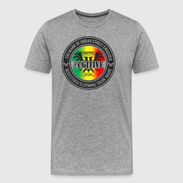 FUGITIVE 2423 RASTA GRADIENT - Men's Premium T-Shirt