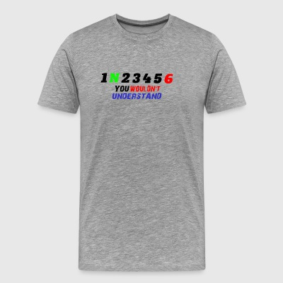 1N23456 Motorcycle Gear 2 - Men's Premium T-Shirt