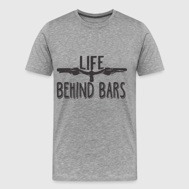 Life Behind Bars T Shirt - Men's Premium T-Shirt