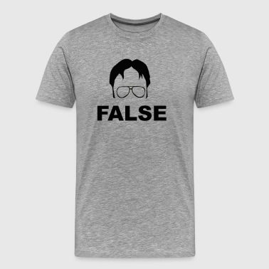 Dwight Schrute False The Office Men 39 S Premium T Shirt