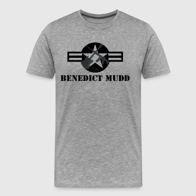 Gray Benedict Mudd - Men's Premium T-Shirt