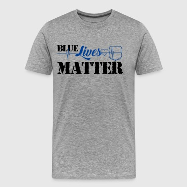 Blue Lives Matter Shirt - Men's Premium T-Shirt