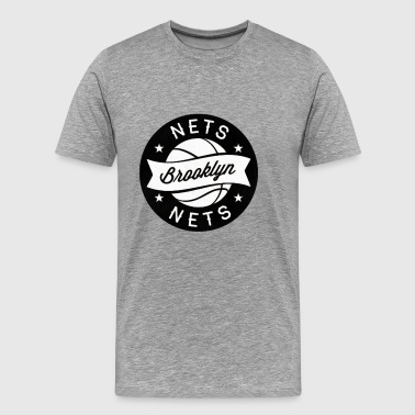 brooklyn nets - Men's Premium T-Shirt
