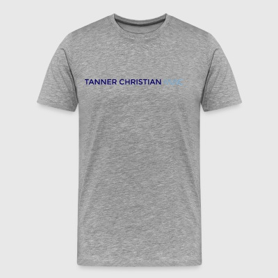 TANNER CHRISTIAN MUSIC - Men's Premium T-Shirt