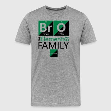 BrO (brother), The Elements of Family - Men's Premium T-Shirt