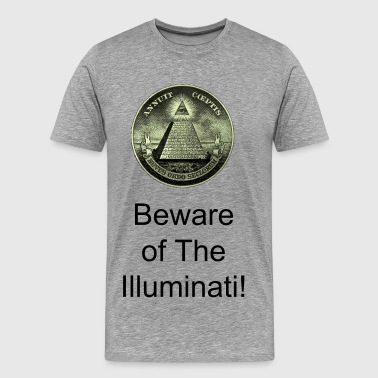 Anti Illuminati Illuminati - Men's Premium T-Shirt