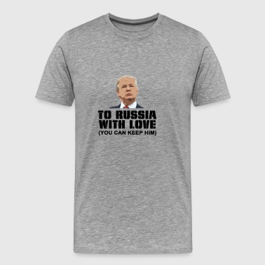 To Russia With Love - Men's Premium T-Shirt