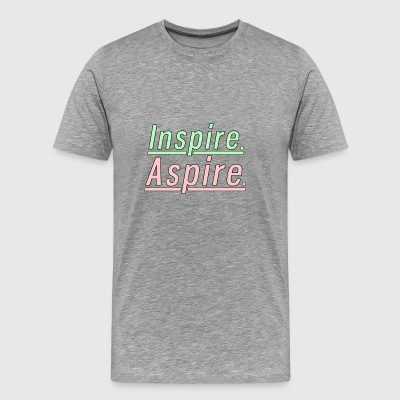 Inspire. Aspire. - Men's Premium T-Shirt