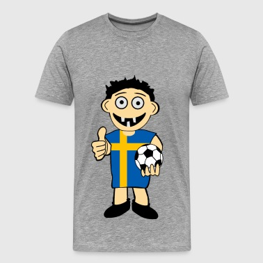 Swedish boy - Men's Premium T-Shirt
