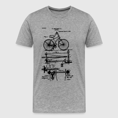 Bicycle Chainless Drive Bicycle 1891 Stillman - Men's Premium T-Shirt