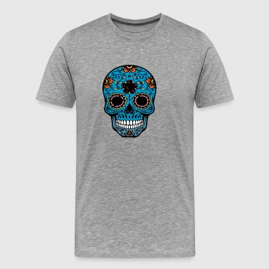 day of the dead skull - Men's Premium T-Shirt