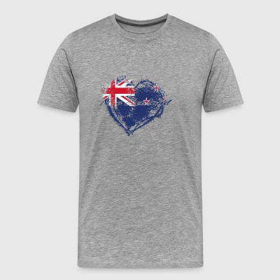 HOME ROOTS COUNTRY GIFT LOVE New Zealand - Men's Premium T-Shirt