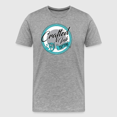 CRAFTED INK LOGO - Men's Premium T-Shirt