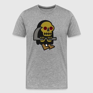 Grim Reaper Guy - Men's Premium T-Shirt