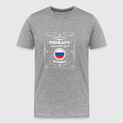 DON T NEED THERAPIE WANT GO RUSSIA - Men's Premium T-Shirt