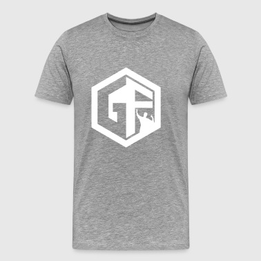 GF Logo Whitek - Men's Premium T-Shirt
