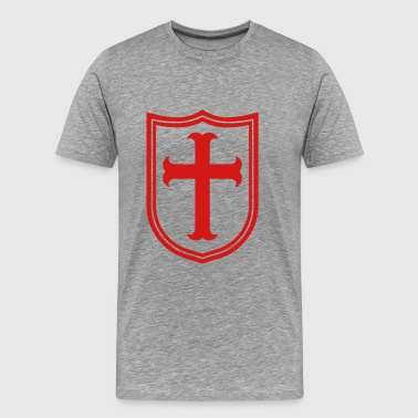knights templar - Men's Premium T-Shirt