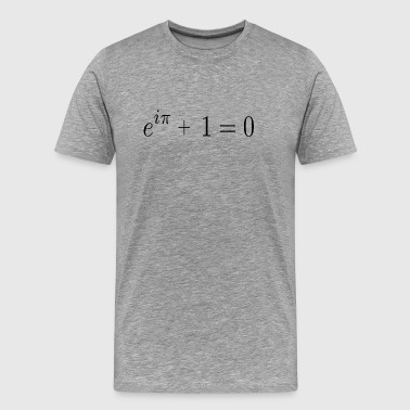 Euler's identity (aka God's Equation) - Men's Premium T-Shirt