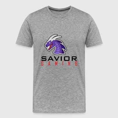 Savior Gaming Logo #3 - Men's Premium T-Shirt
