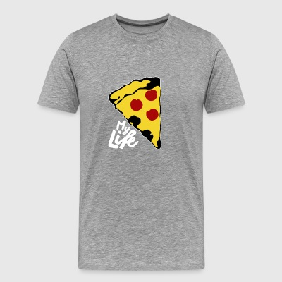 LOVE PIZZA tshirt - Men's Premium T-Shirt